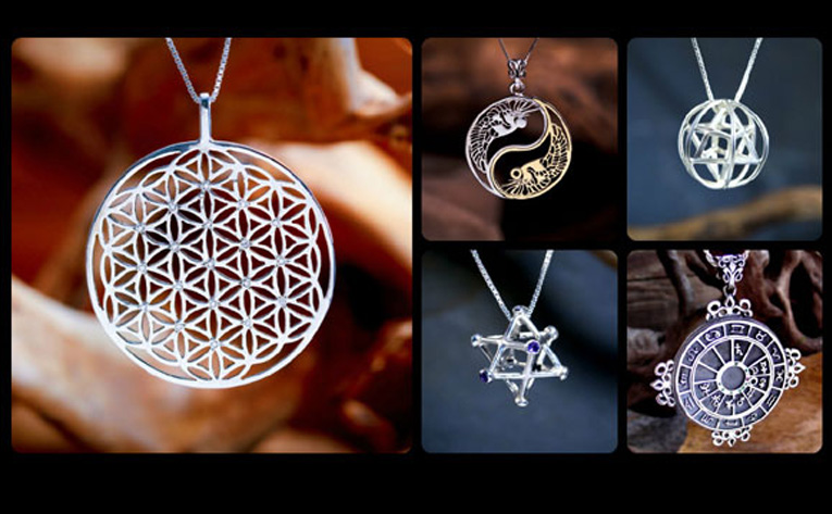 Sacred jewelry gold and silver rings pendants and bracelets page 1 mozeypictures Gallery